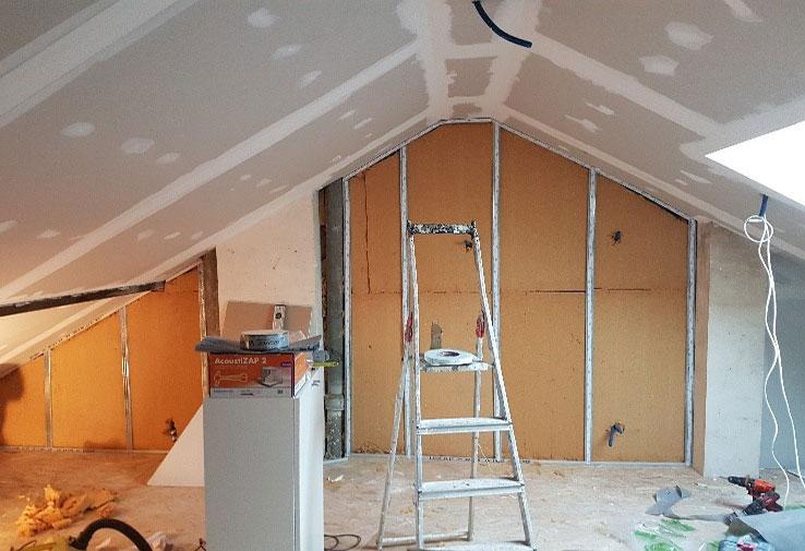 Isolation des Rampants/Sous toiture